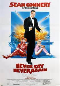 Never Say Never Again movie poster
