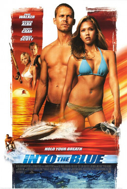 Into the Blue movie poster