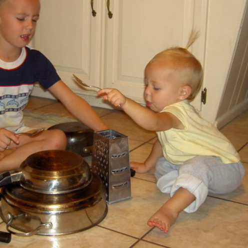 Children love to participate rhythmically