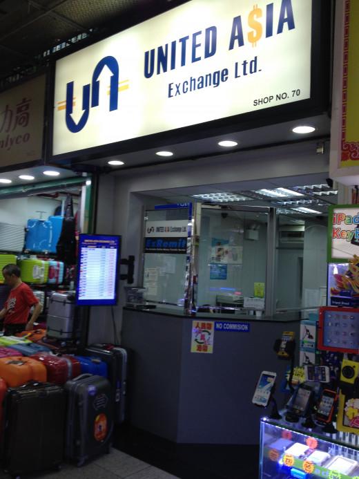 Forex & travel hub
