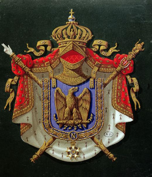 Emperor Napoleon: Coat of Arms