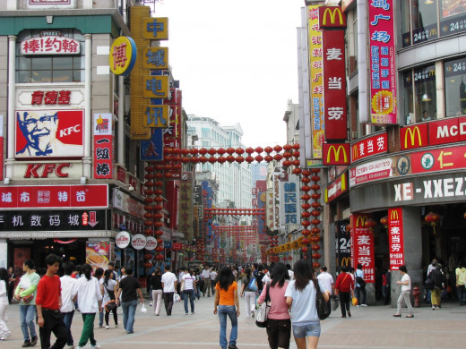 Shang Xia Jiu Shopping Street is a favorite with locals and expats alike