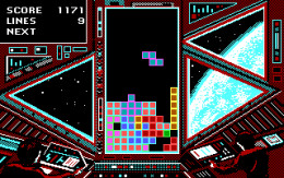 Tetris Came out on so Many Different Systems, It Was Ridiculous. Nowadays Most People Play It on Their Cell Phone or Something like That. This Was Another Version I Had Which Ran on Dos.
