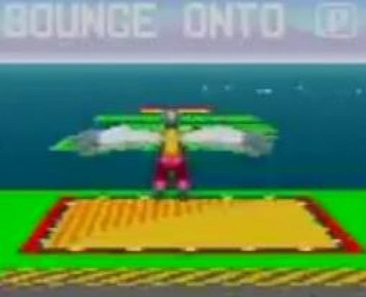 This Particular Bonus Stage Where You Jump across Water on Trampolines Should Have Been Part of the Regular Game. It Was Pretty Fun. I Could Have Played a Game of Just This Stuff, to Be Honest.