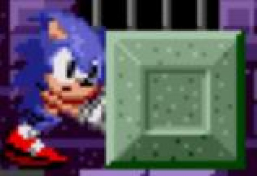 Slow down There Fast Guy! This Is a Sonic the Hedgehog Game and It's Zone 2. It's Time to Push Stuff Around Slowly. Yeah... That's How We Do It around Here. I Think Sega Knew Marble Zone Was a Mistake to Put So Early In the Game.