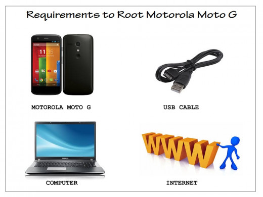 Things required to root Moto G