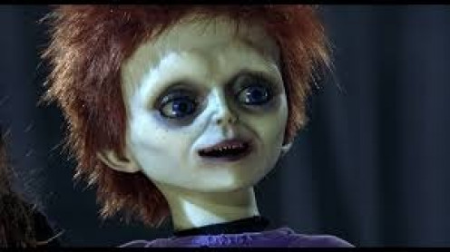 The Seed of Chucky was a silly horror film and the fifth in the Chucky franchise.