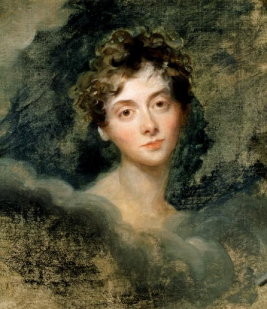 Lady Caroline Lamb Stabbed Herself With A Fruit Knife Over Lord Byron