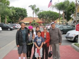 Travel with family કુડુંબ સાથે સફર કરો.