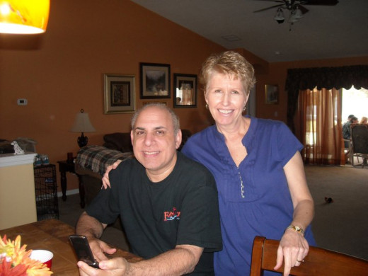 Ann Durso with her Husband Jim