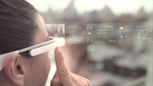 Surfing the web by talking to your glasses sounds outlandish but Google Glass does just that.