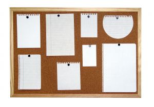 A note board filled with notes of the concept