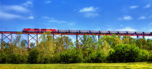The Tulip Viaduct - it's actually pretty!