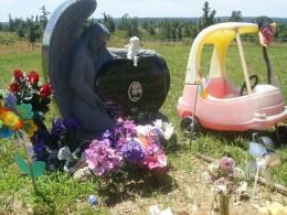 My nephew's tombstone