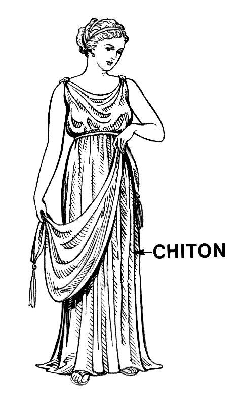Linen chiton