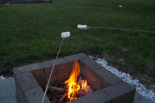 Marshmallows should be involved in any camping situation.