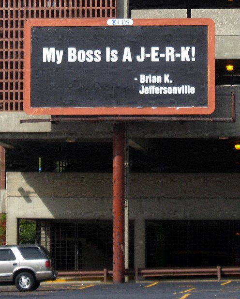 Would you want to work for a boss who is a jerk? The way employees are treated is a contributing cause to a high employee turnover rate.