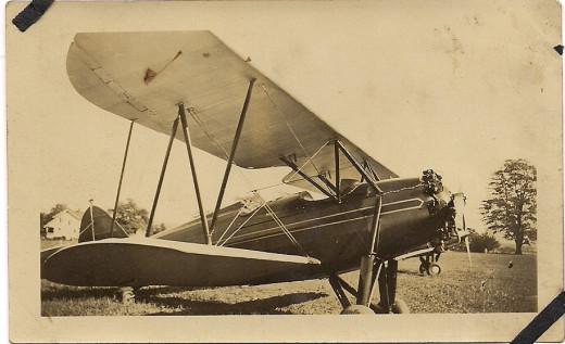 "My grandmother's plane, ""Old Faithful"""