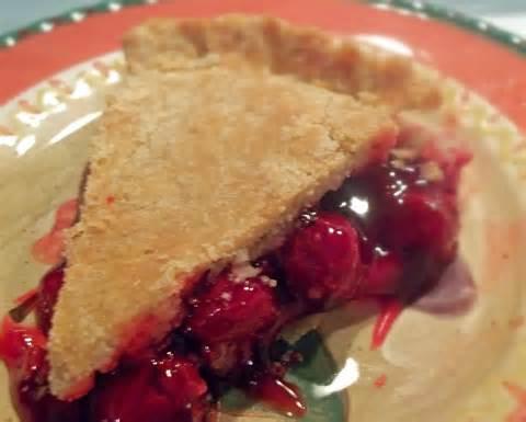 Cherry pie has the same rhythm as apple pie.