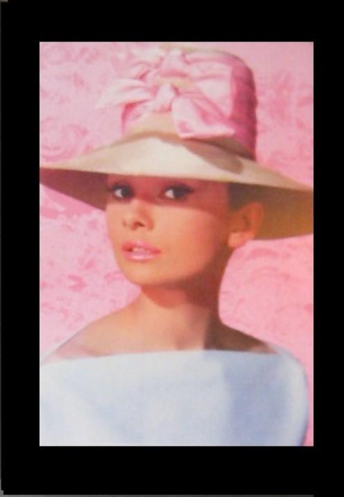 Image of Audrey Hepburn.