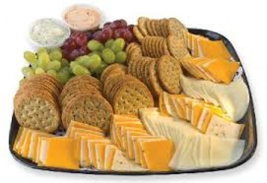 Cheese and Cracker tray.