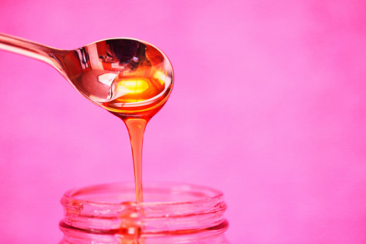 Honey has a bunch of properties that are good for keeping your lips healthy.