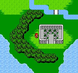 Overworld of Final Fantasy II