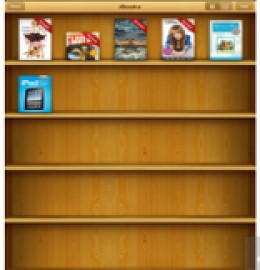 iBooks- one of the popular e-book reading apps for iPhone 3g