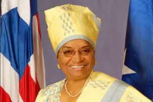 President of Liberia, Ellen Johnson-Sirleaf