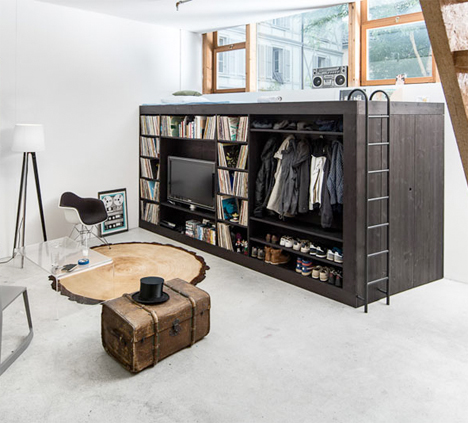 Living cube - space saving and efficient