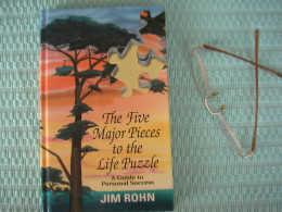 My autographed copy of The Five Major Pieces to the Life Puzzle