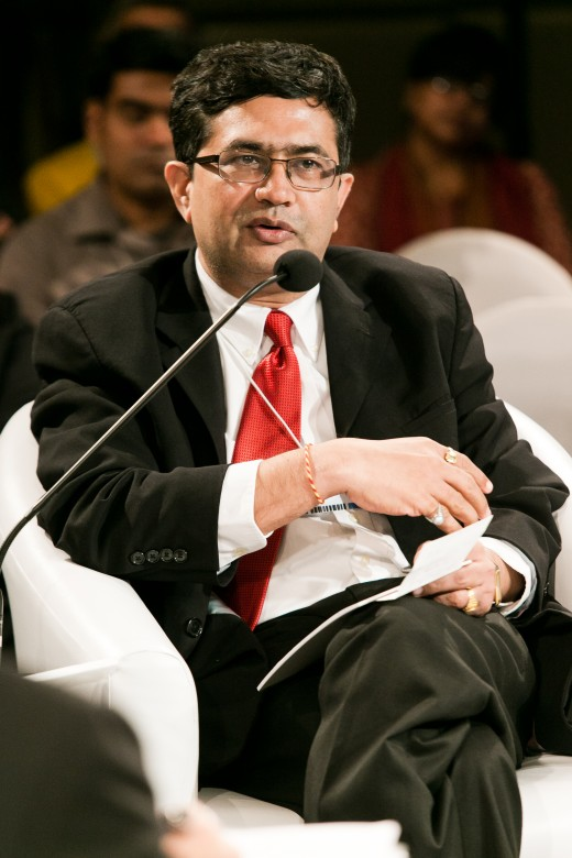 Ashish Chauhan, Chief Executive Officer, Bombay Stock Exchange, India at the World Economic Forum on India 2012