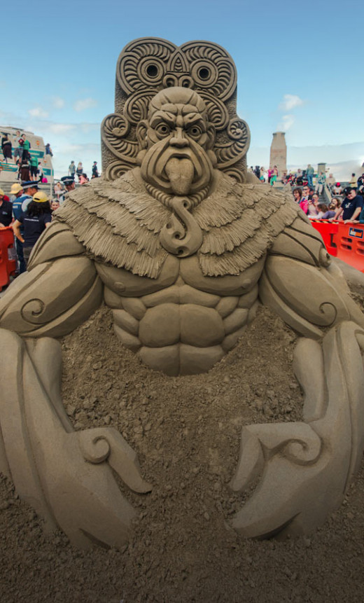 New Zealand Sand Castle Competition