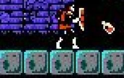 You had to throw holy water every step of the way through the mansions, because they have blocks that aren't really there. You fall through. I have no idea why game designers do such horrible things to gamers. This really is just disgusting.