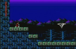 The famous tornado part from Simon's Quest. This was some of the most cryptic, asinine, stupid Nintendo crap ever thrown in video gamer's faces. No clues, nothing. Just pure random crap. Your odds of discovering this without help were not good.