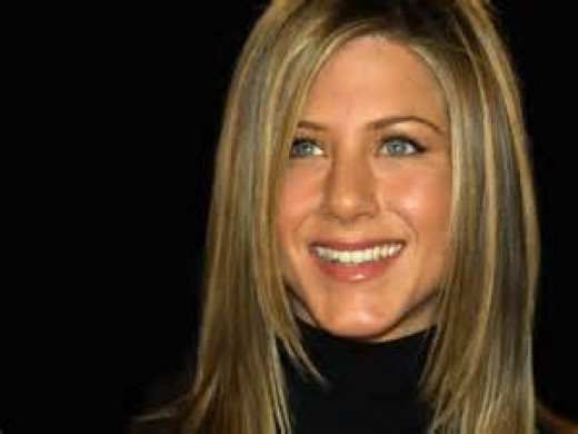 Jennifer Aniston was a waitress long before she was famous.  She was also a bike messenger and telemarketer.  That's one phone call I wouldn't mind taking during dinner.