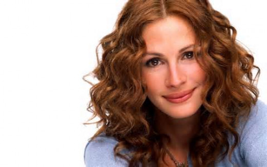 Julia Roberts used to work at an ice cream shop prior to being America's Pretty Woman.