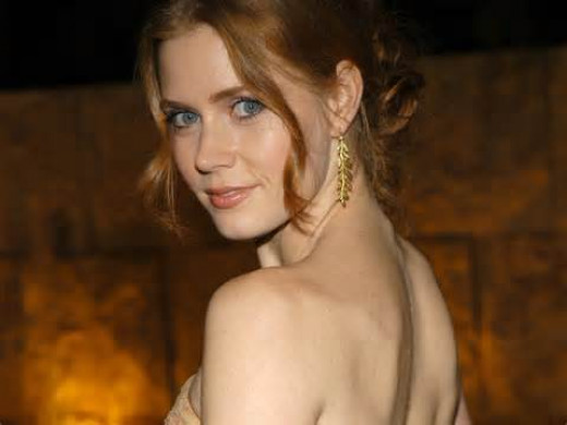 This starlet used work at Hooters as a waitress.  Amy Adams has been quoted as saying she wasn't exactly Hooters material, because she was endowed enough.