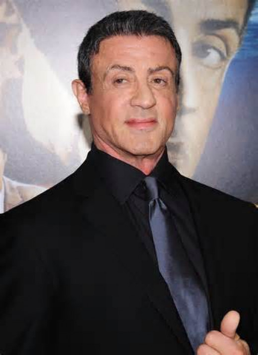 Sylvester Stallone wasn't always running up and down stairs and punching slabs of meet as Rocky.  Sly used to be an usher at a movie theater and after that he worked at the Central Park Zoo cleaning the lion cages.