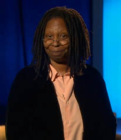 Whoopi Goldberg used to be a bank teller before she was sharing her opinion on The View.  She was also a bricklayer...
