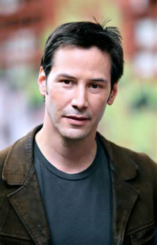 Keanu Reeves also worked as a janitor before making it big.  I don't know about you but any janitor I know did not look Keanu Reeves.