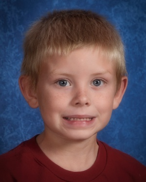 Jackson when he was in the first grade...this picture was taken just a few months before we started the ADHD evaluation process.