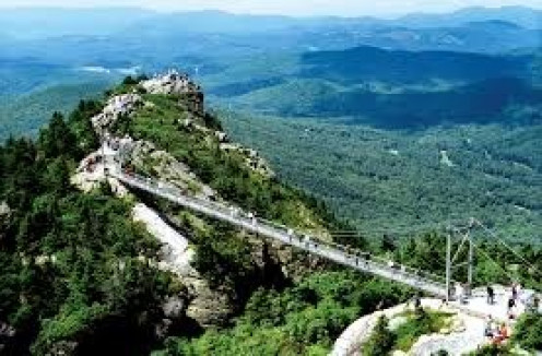 Grandfather Mountain Park is Linville, NC's most famous and must see attraction.
