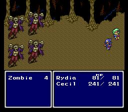 Combat in Final Fantasy IV