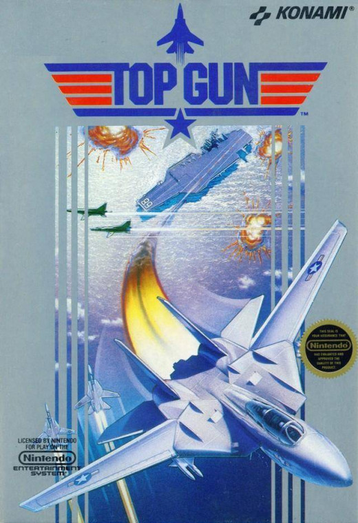 They can make any game look cool with the cover art. Top Gun actually was a cool game, but it had many fatal flaws ingrained into it. It's hard to say whether it's a good game or a bad game, but it's still very playable.