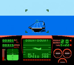 The famous landing sequence, popularized by the AVGN. It's not as hard as he makes it sound. You just match altitude and speed with what it says. For a kid though, that wasn't obvious since it tells you what to do even when you match alt and speed.