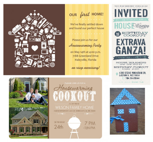 Creative Housewarming Invitations