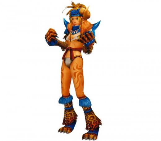 Pic 2: Rikku as a Berserker