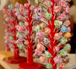 Dum Dum Pops come in a variety of flavors!
