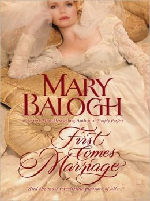 First Comes Marriage by Mary Balogh's Huxtable Series